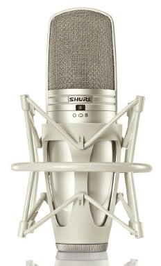 Multi-Pattern Large Dual Diaphragm Side-Address Condenser Microphone