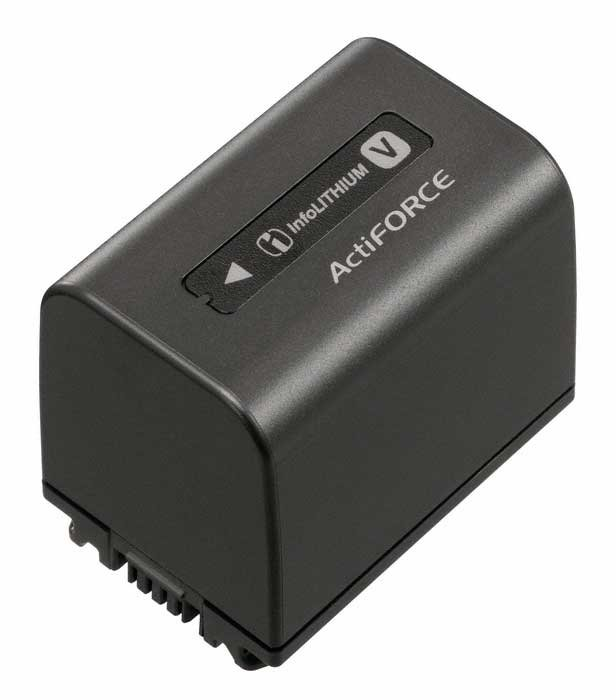 H Series InfoLithium Battery for Sony Camcorders
