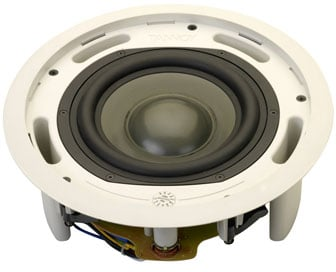 "200W 8"" Pre-Install Ceiling Subwoofer without Transformer"