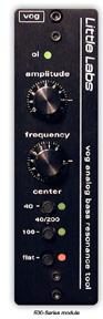 Analog Bass Resonance Tool