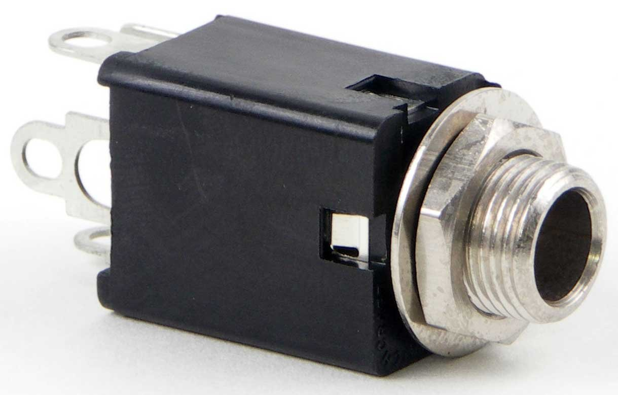 "Connector, 1/4"" Stereo  Jack"