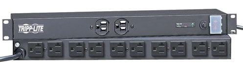 Surge Suppressor,12 out, 15` Cord, 20A