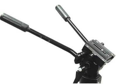 Fluid Head, 18lb Capacity, With Quick Release