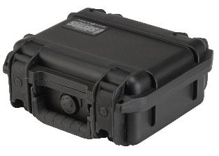 Molded Waterproof Case, 9x7x4, Divided interior
