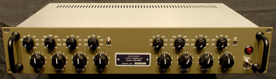 4-Band Equalizer, Dual Channel