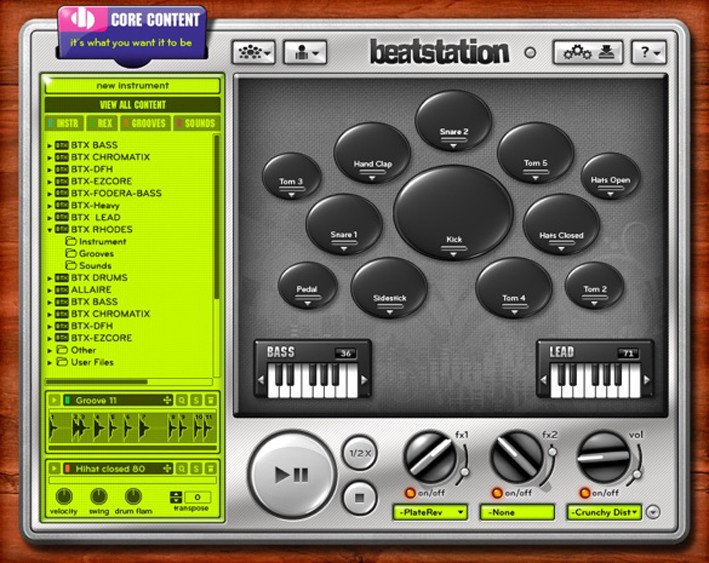 Software- Groove Production/Virtual Instrument/Sampler (VIRTUAL)