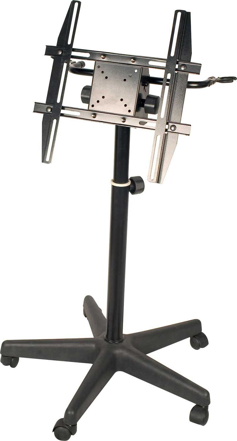 Custom Stand for LCD Monitor & 2 Mics
