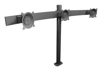 Winsted W5686  Triple Monitor Mount for Prestige Insight Consoles W5686