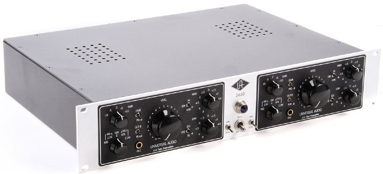 Dual Channel Tube Mic Preamp