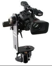 Motion control for smaller DV and HD cameras, up to 12lbs