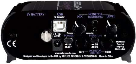Project Series 2-Channel USB Microphone Preamp