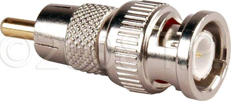 TecNec BM-P  Adapter BNC Male to RCA Male  BM-P