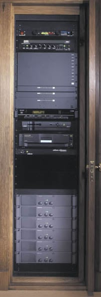 15-Space AXS Rack (for Millwork & in-Wall Applications)