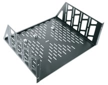 2-Space Vented Universal Rack Shelf