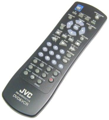 JVC VHS/DVD Remote Control