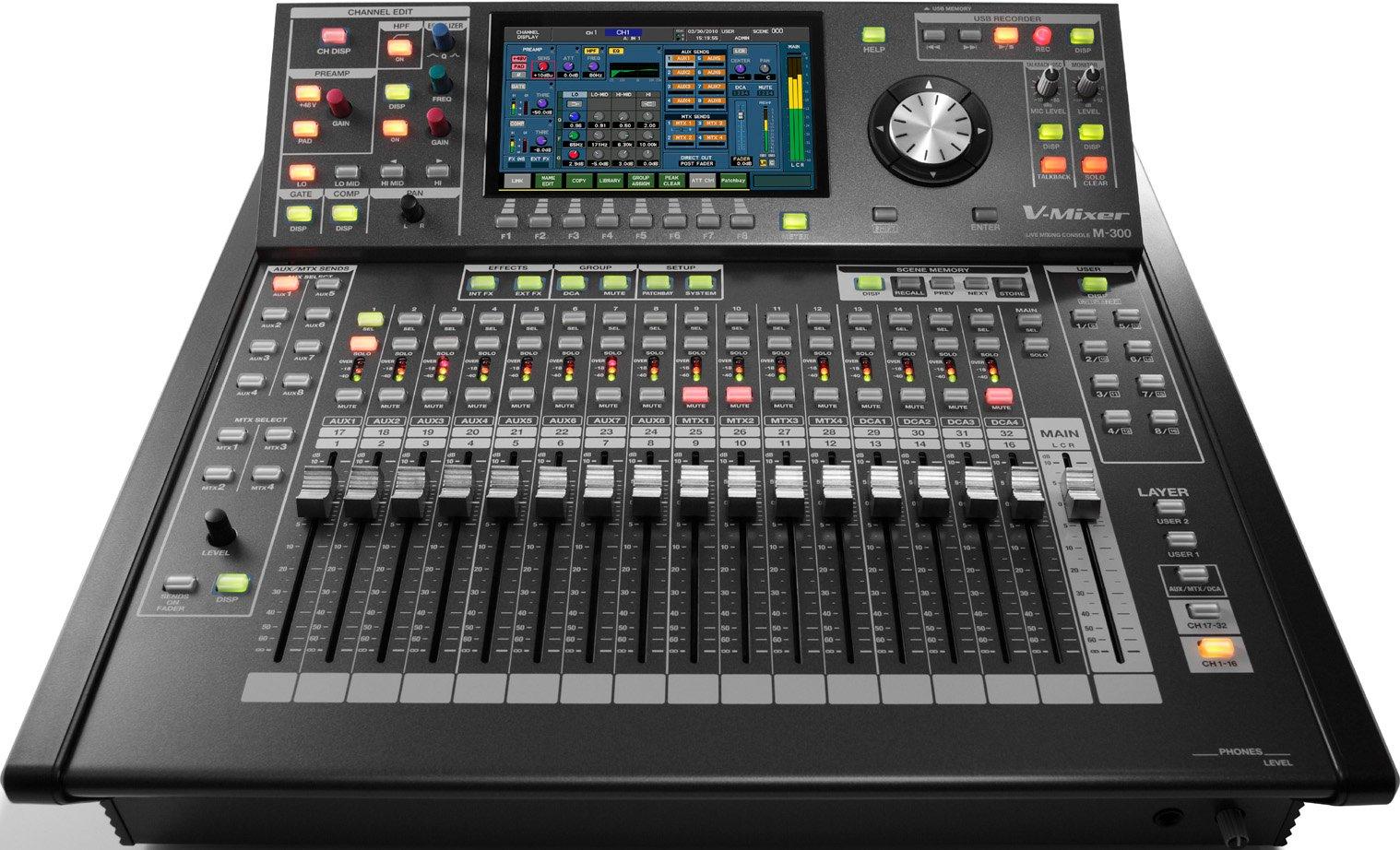 32-Channel V-Mixer Compact Live Digital Mixer