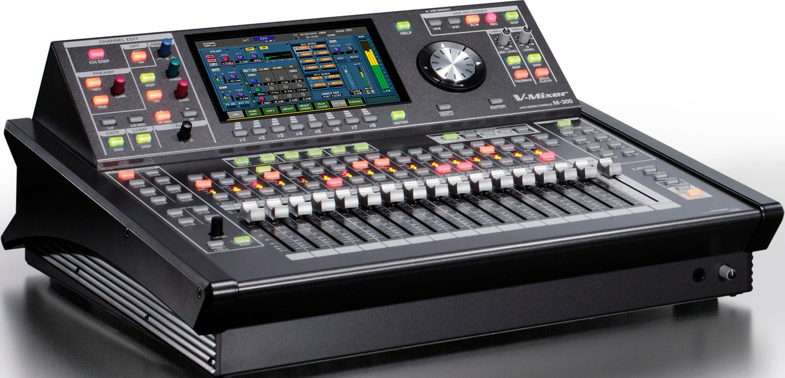 32-Channel V-Mixer Compact Live Digital Mixer by Roland, M