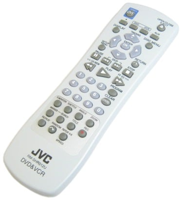 JVC DVD Player Remote