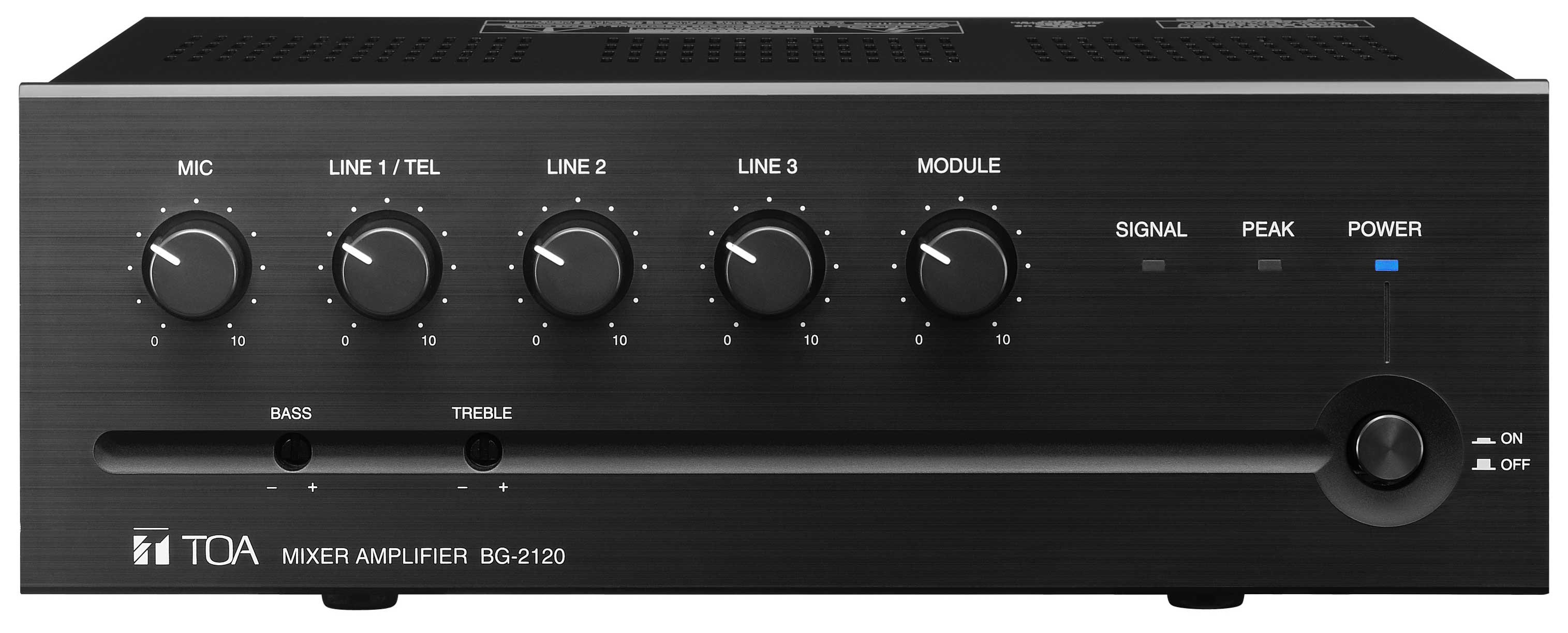 Mixer/Amp, 35W, 5 Input