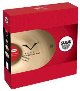 "Vault Promotional Cymbal Set with 14"" Hi-Hats, 18"" Crash, 20"" Ride and 20"" Crash in Natural Finish"