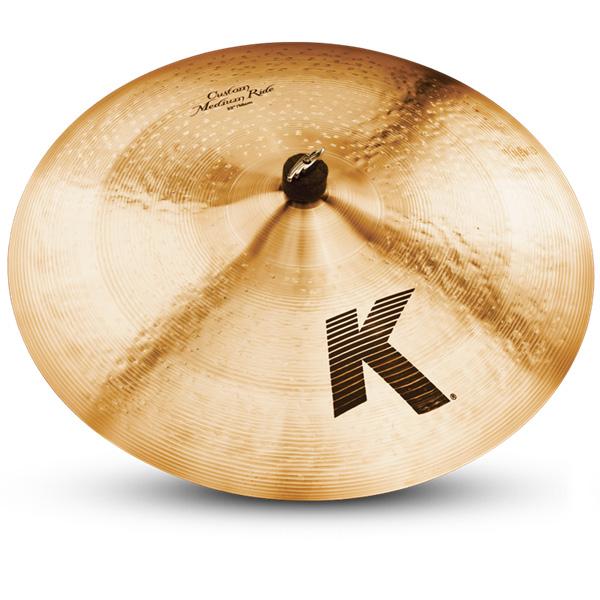 """22"""" K Custom Medium Ride Cymbal"""