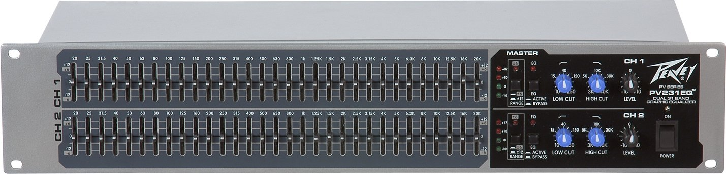 Dual 31-Band Graphic Equalizer