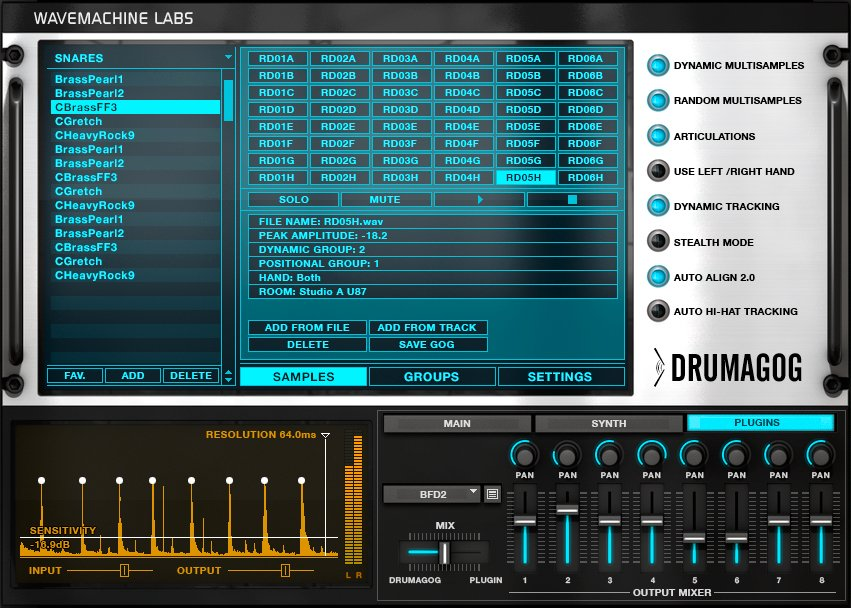Drum Replacement Software (Pro Version)