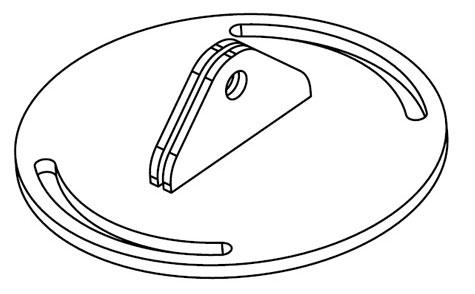 SoundTube AC-RS-SM5  Wall Mounting Bracket  AC-RS-SM5