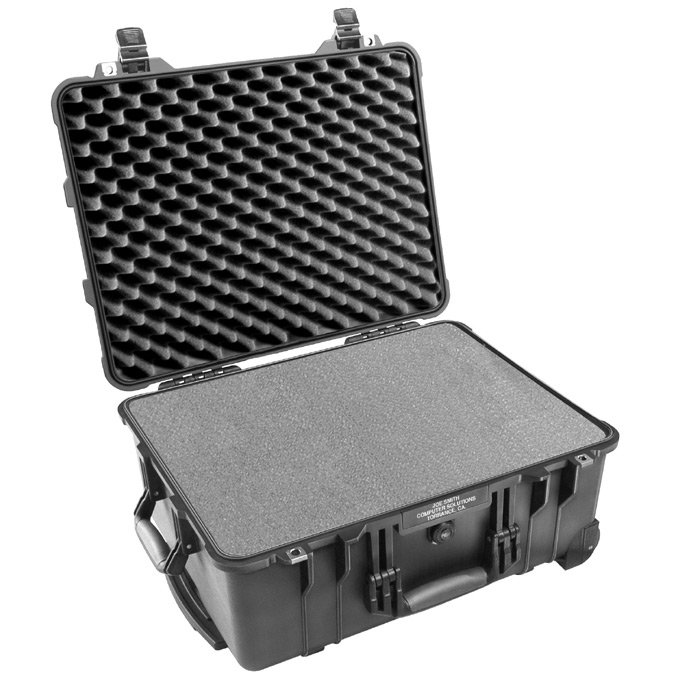 Large Case with Pick & Pluck Foam