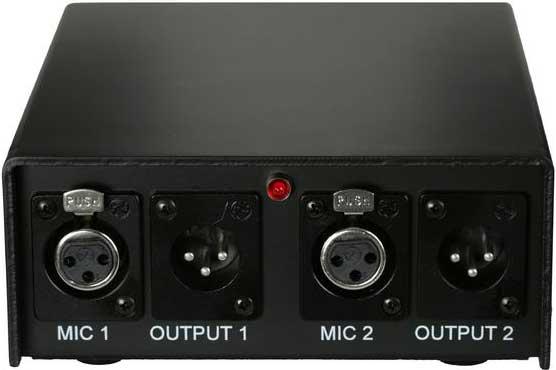 Audix APS-2  Phantom Power Supply, 2-Channel APS-2