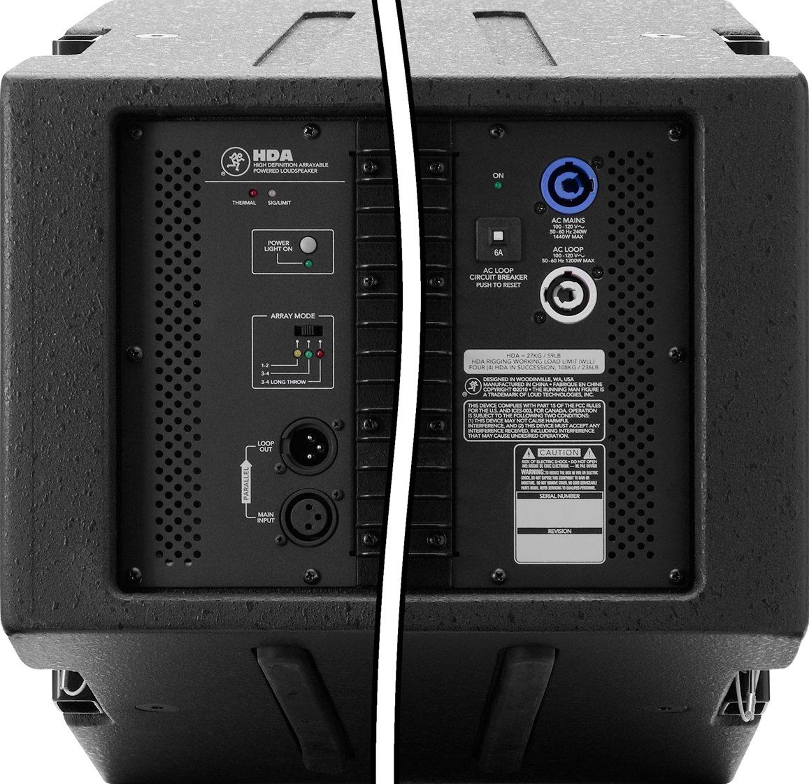 "12"" 1200W 2-Way Powered Arrayable High-Definition Loudspeaker"