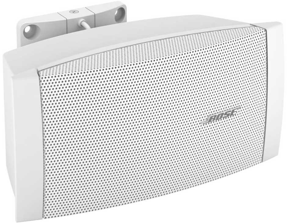 FreeSpace Surface-Mount Indoor Loudspeaker with Multi-Tap Transformer in White
