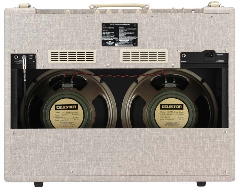"30W Hand-Wired Combo 2x12"" Guitar Amp with Celestion G12M Greenback Speakers"