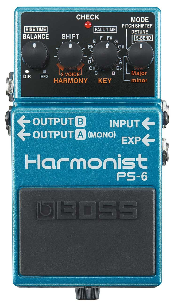 Harmonist Pitch Effects Guitar Pedal