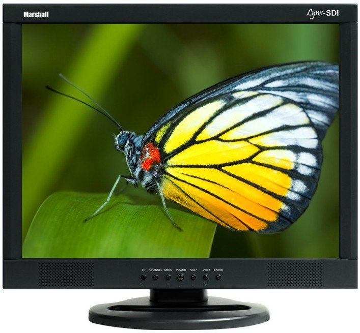 "17"" LCD Monitor with SD/SDI BNC Loop Through"