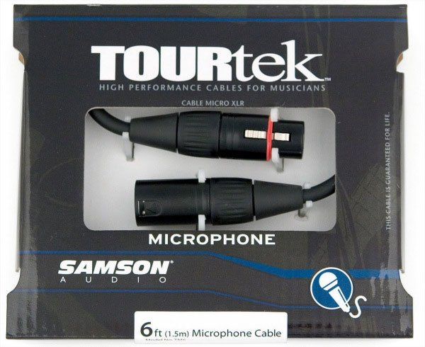 TourTek Mic Cable 6 ft