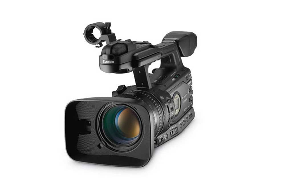 Professional HD Camcorder with Genlock, HD/SD-SDI and Timecode Terminals