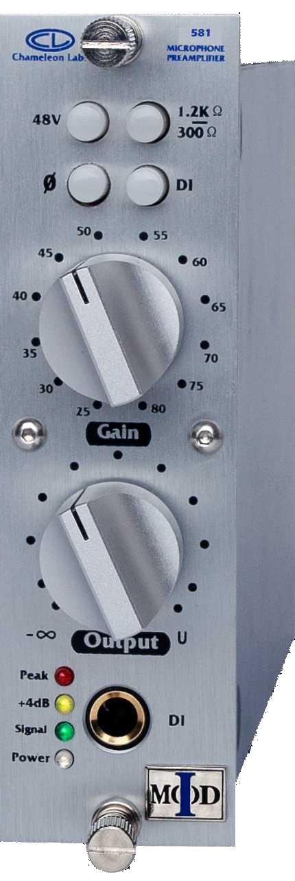 500 Series Discrete Class AB Microphone Preamplifier