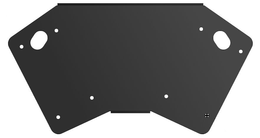 Horizontal Array Kit, Black  (Requires Mb200)