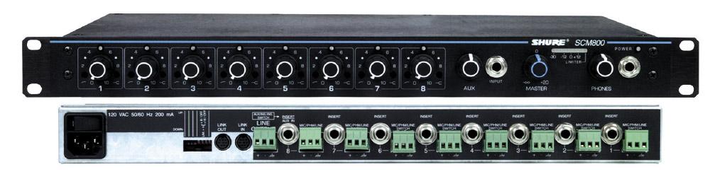 8Ch Microphone Mixer