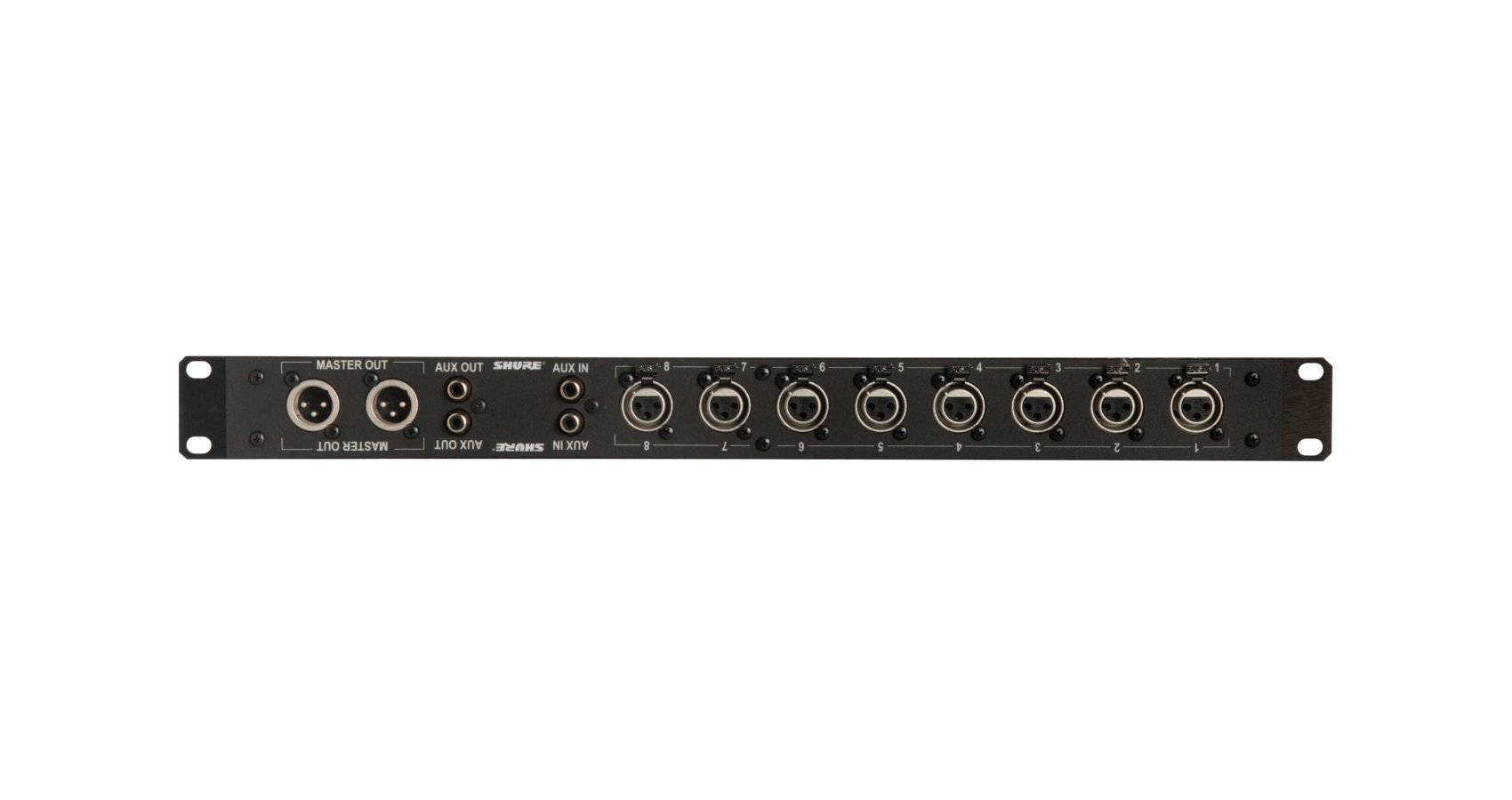 Rack Mount XLR connector panel