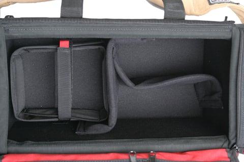 Porta-Brace DCO-1R DSLR Organizer (Black, Red) DCO-1R