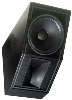 "2-way Loudspeaker, 15"" (black)"