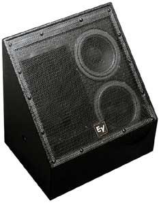 "Electro-Voice EVI-28BLK 2-way Loudspeaker, Dual 8"" (black) EVI-28BLK"