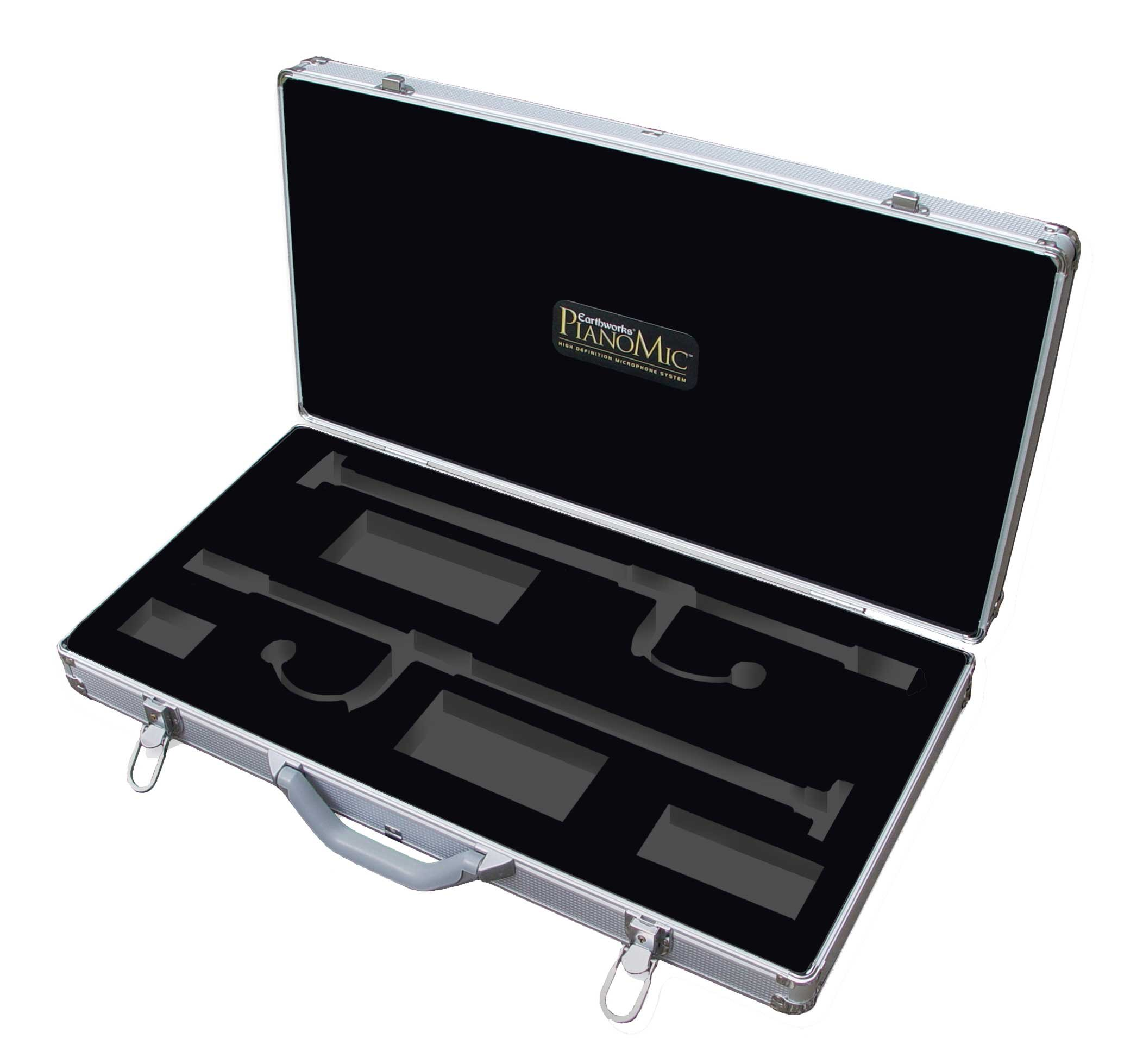 Case For Earthworks PM40T Touring PianoMic System