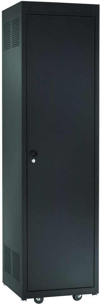28 RU Solid Steel Rack Door (for E1 Series Racks)