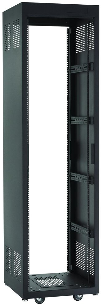 "28 RU E1 Series Rack (23"" D, Black)"