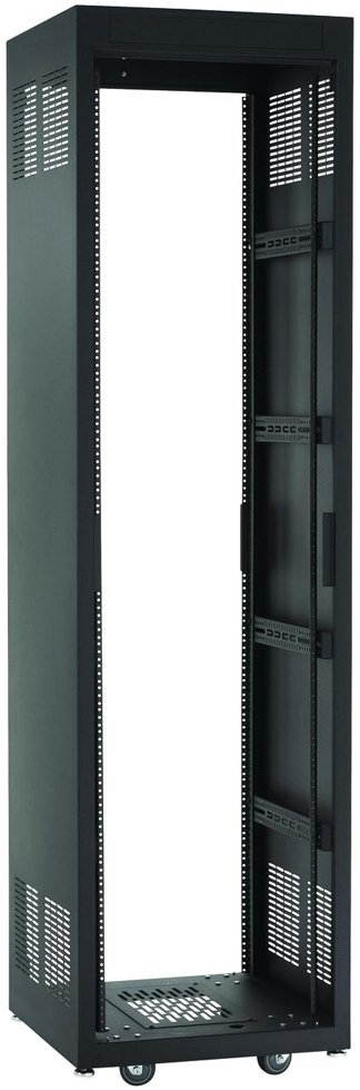 "28 RU E1 Series Rack (28"" D, Black)"