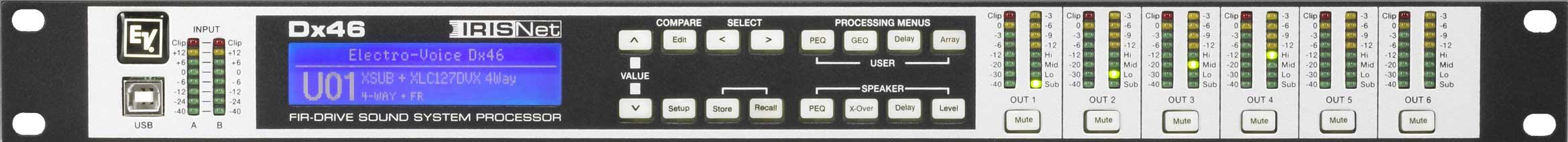 Speaker Processor, FIR-Drive, 2 x 6