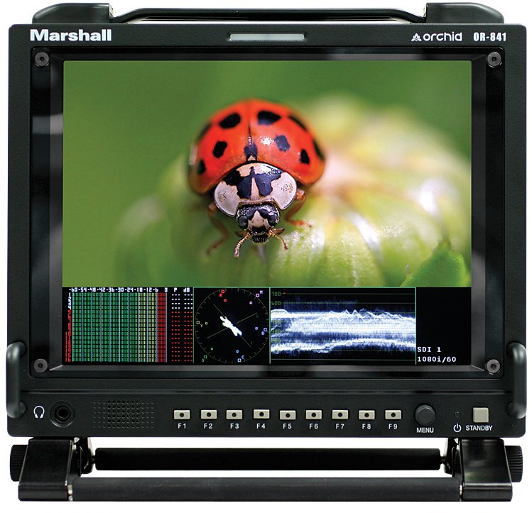 "8.4"" Rackmount/Camera-Top/Portable LCD Monitor"